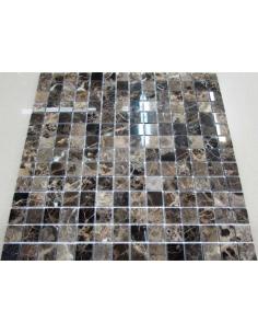 Каменная мозаика Emperador Dark 20-4P
