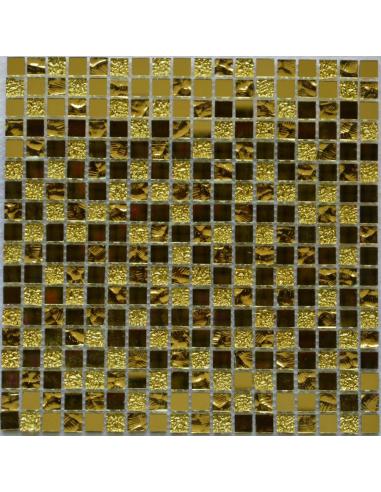 Зеркальная мозаика Mirror Gold