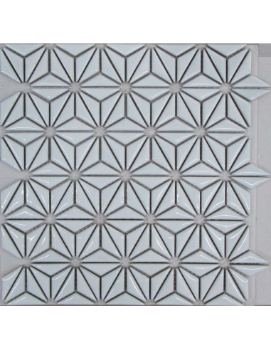 Liya Flowers White мозаика керамическая