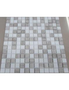 Каменная мозаика Mix Grey 20-4P
