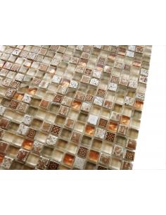Cozumel 4мм мозаика из камня и стекла