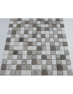 Каменная мозаика Mix Dark Grey 20-4T