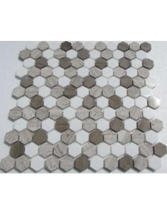 Hexagon Dark Grey