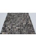 Каменная мозаика Emperador Dark 15-4T