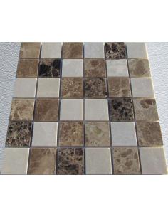 Каменная мозаика Mix Emperador 48-8P