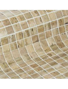 Travertino мозаика стеклянная