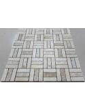 Мозаика из травертина Travertine 48x15-7M