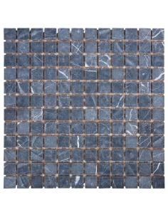 DAO-505-23-8 Nero Marquina каменная мозаика