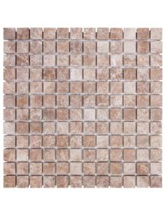 DAO-531-23-8 Light Emperador каменная мозаика