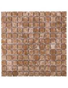 DAO-631-23-8 Light Emperador каменная мозаика