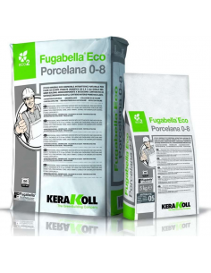 Fugabella Eco Porcelana № 06 Black затирка цементная