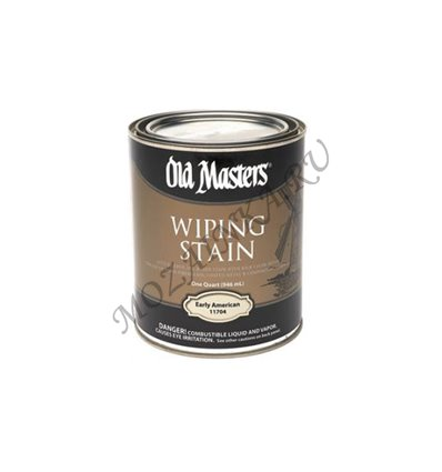 Пропитка на льняном масле Wiping Stain Old Masters 3