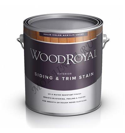 Пропитка по дереву WOOD Royal House & Trim Latex Solid Stain 3