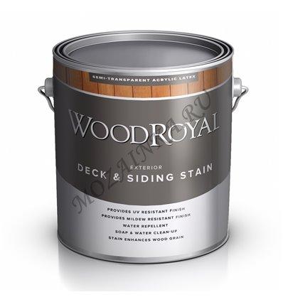 Фасадная пропитка WOOD ROYAL DECK SIDING SEMI-TRANSPARENT LATEX STAIN 3
