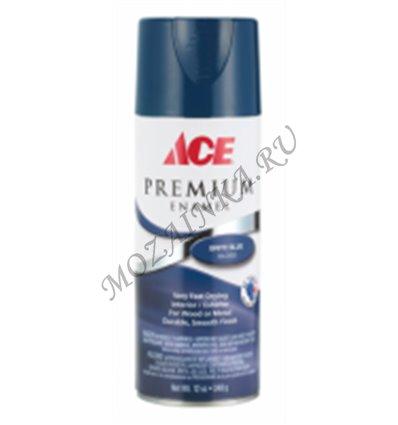 Аэрозоль Ace PREMIUM Enamel 17003 - FLAT BLACK - Черный