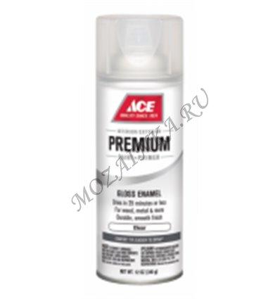 Аэрозоль Ace Premium Enamel прозрачный лак 17007 - CLEAR - Прозрачный