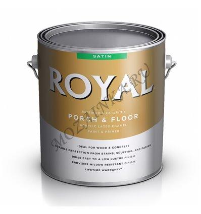 ACE ROYAL Interior/Exterior SATIN Porch&Floor Paint 3