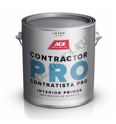 Грунт для внутренних работ Contractor Pro PVA LATEX Wall Primer. 3