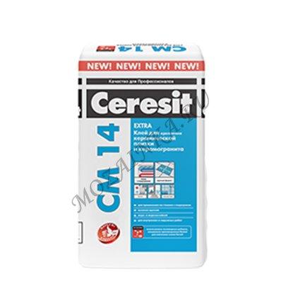 Ceresit CM 14 Extra / Церезит ЦМ 14 Экстра Клей для плитки керамической и керамогранита 25.1 кг.