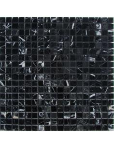 M081-15-8P Nero Marquina каменная мозаика