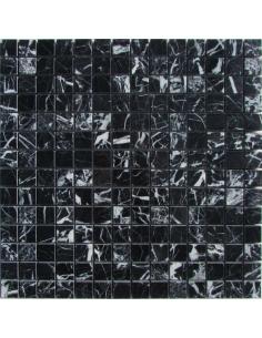 M081-20-8P Nero Marquina каменная мозаика