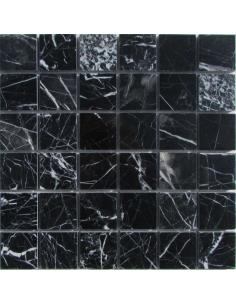 M081-48-8P Nero Marquina каменная мозаика