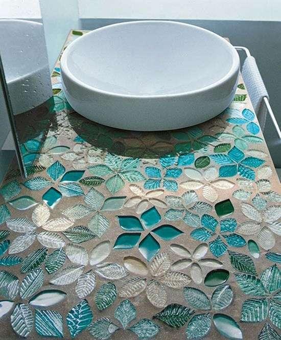 Мозаика в ванную комнату